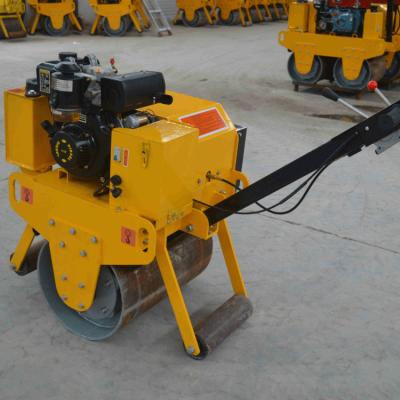 JKS-600小型<b>压路机</b> 振动震动手扶<b>压路机</b> 单轮路面压实机