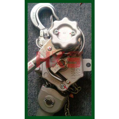 日本NAGAKI MODEL3000铝合金手扳葫芦 3T铝合金手扳葫芦 正宗行货