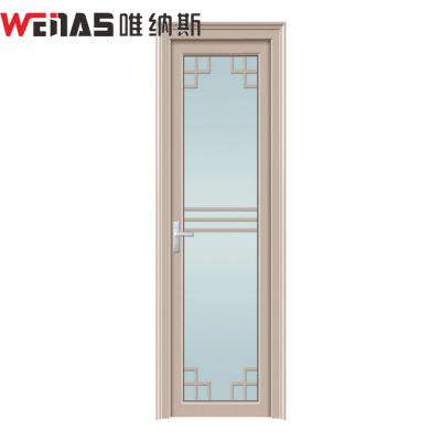 优质定制厨房房间卫生间室内门铝合金手动平开隔音平开门厂家直销