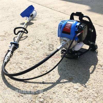 直销江苏蔬菜大棚专用汽油背负式除草机 小型开沟翻地机