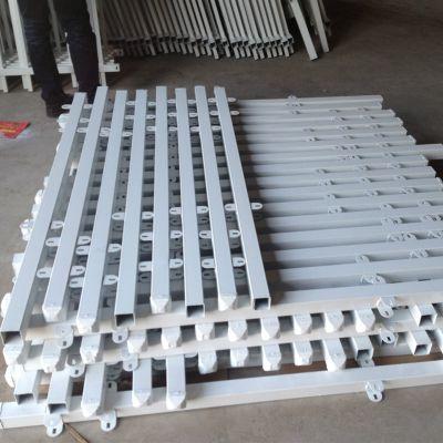 PVC塑钢护栏@宁波移动围栏厂家@锌钢护栏计算