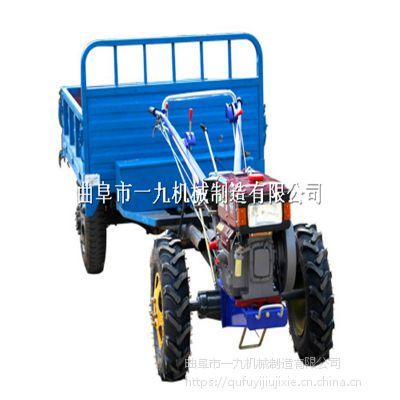 河北地區農用大中小馬力手扶拖拉機 適應各種農田旋耕除草手扶車