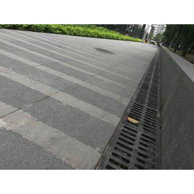 石材厂家直销芝麻灰广场工程板 路沿石 环境装饰石 加厚耐磨型 价格\图片
