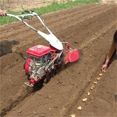 高效蔬菜大棚开沟起垄机多功能小型手扶式开沟机
