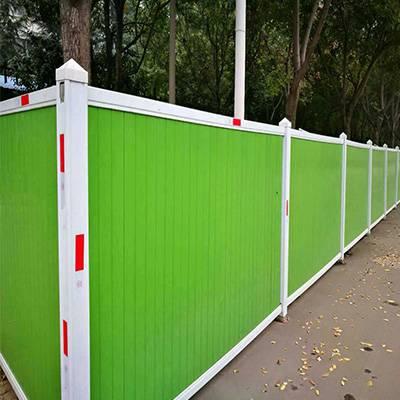 北关 PVC围挡 工地施工围挡 小草绿植围挡 铁皮围挡 质量好 价格低