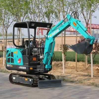 渭南旱厕改造专用小型挖掘机多少钱 小挖土机型号图片