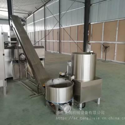 荞麦锅巴设备脆皮锅巴生产线苦荞片机器