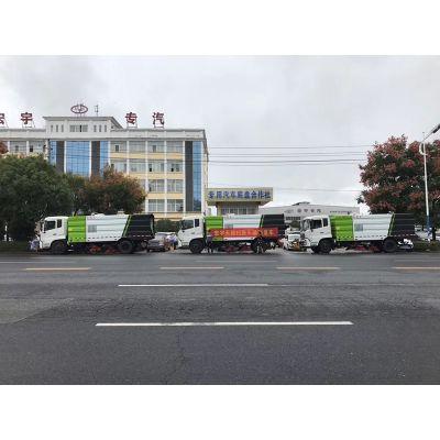 15方扫地车加装除雪设备_东风天锦扫地车价格_15方多功能扫路清扫车