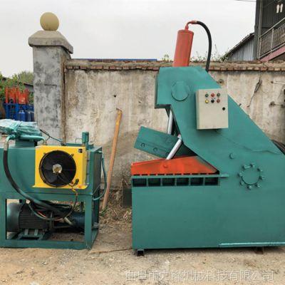 高效鳄鱼虎头剪切机 厂家直销废铁圆钢切断机 快速金属下脚料剪切机