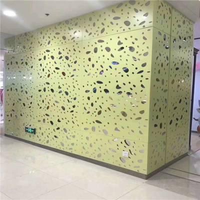 外墙镂空铝单板-氟碳处理幕墙铝单板-德普龙制造铝单板厂家