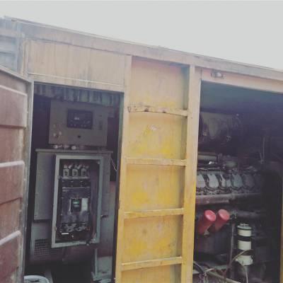 安康500kw柴油发电机出租 海企机械设备