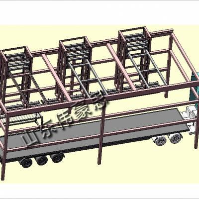 江苏大豆自动装车系统 全自动装车机械手