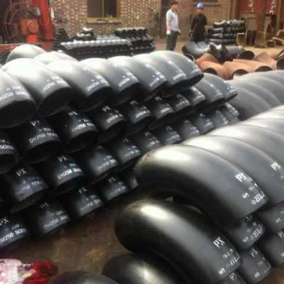 加工定制 国标耐腐蚀高压碳钢弯头 180度冲压焊接无缝弯头管件