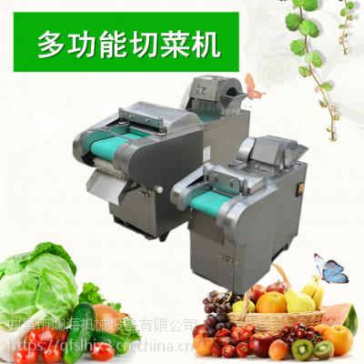 不锈钢多功能切菜器切丝切片一体机 药材切段机 土豆切片切菜机