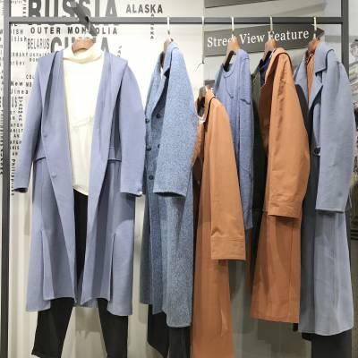 北京一二线品牌女装货源 琢盈19新款秋冬装 折扣女装拿货渠道