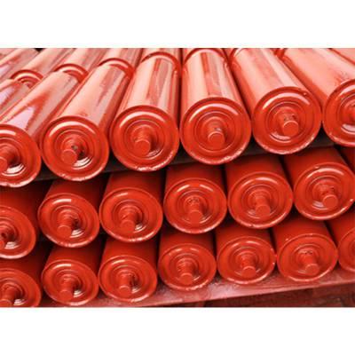 厂家生产三连串托辊 矿用无动力托辊 耐磨三联托辊加工