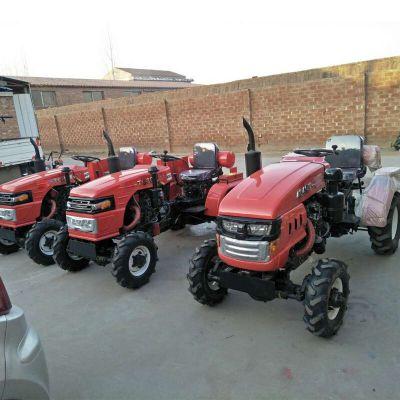 四驱小型田园管理机 四轮拖拉机型号齐全 大棚高效开沟旋耕机