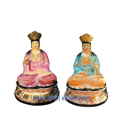 厂家批发订做 泰山圣母 三霄仙子树脂佛像