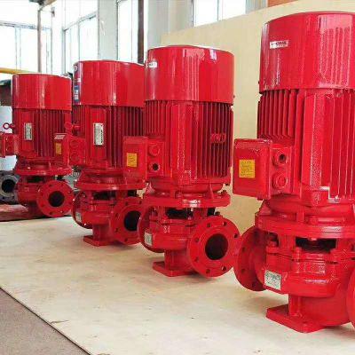 上海战泉XBD8.5/50G-L立式单级消防泵 喷淋泵 消火栓厂家直销