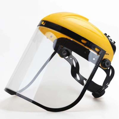 头箍式PC防化防冲击面罩 实验室防护面屏 防化学飞溅面屏