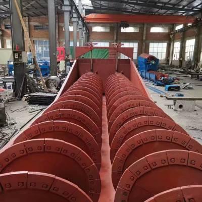 螺旋洗砂机和轮斗式洗砂机哪个好 螺旋洗砂机的优缺点 双螺旋洗沙机