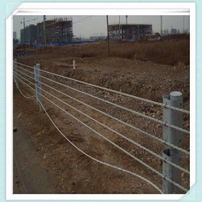 缆索护栏美观安全性高@缆索防护栏安全设施@缆索护栏厂家