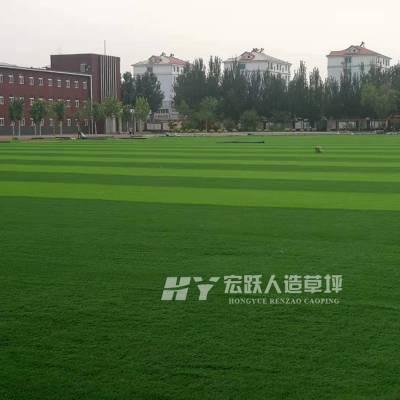 通化足球场人造草坪_丰富经验团队铺装施工_品质保证