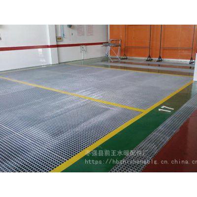 高标准洗车格栅漏水地网格栅花纹盖板防滑抗挤压玻璃钢格栅