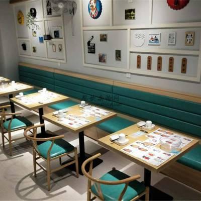 潜江市家具定做,美食奶茶店桌子椅子供应