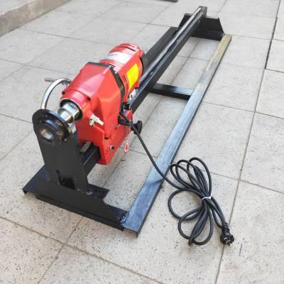 非开挖水钻过路钻孔机 天然气管道顶管机 小型水钻打孔机
