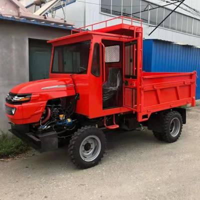 采用断气刹的柴油四不像-大马力拉木头用的四轮拖拉机