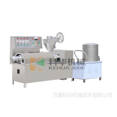 江苏九江蛋白肉机器厂家,多功能牛排豆皮机械设备,一机多用豆皮机价格,榨油机多少钱?