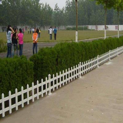久卓草坪围栏生产厂家 pvc内衬钢管 草坪小栅栏 每日报价