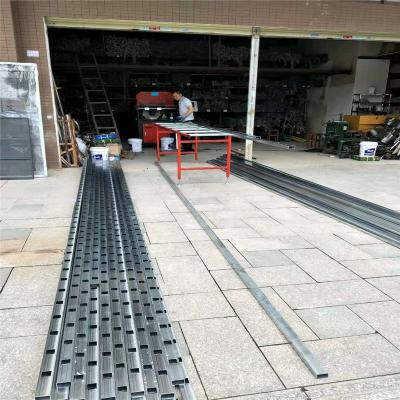 内蒙古热销护栏液压冲床 锌钢护栏打孔机供应 护栏自动打孔机价格