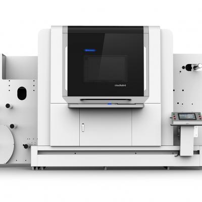 海帛多功能标签印刷机制造 uv 7色标签印刷
