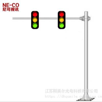 南宁交通红绿灯八角杆件生产厂家 道理信号灯八棱杆 抗风等级12 江苏斯美尔光电科技有限公司
