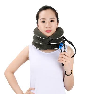 供应康信颈椎牵引器 充气式颈托 调节牵引固定颈椎