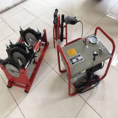 批发pe管材热熔机 全自动pe热熔焊机 pe对焊机315pe管焊接设备 燃气全自动pe对接机山东秀华