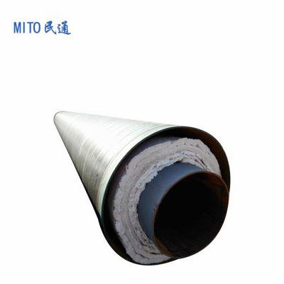 采暖系统输送蒸汽管道 河北供热保温管价格 钢套钢钢管厂家