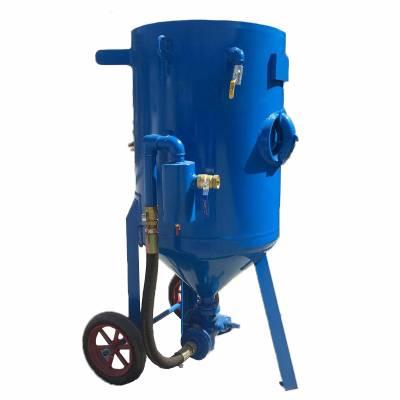 HC-600 砂水混合喷砂机 砂水混合喷砂机中拓厂家 船舶五金产品喷砂设备