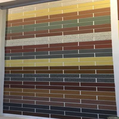 供应山东工程建设专用软瓷 瑞源柔性饰面砖 柔性石材 外墙装饰材料防潮 抗热震性强 厂家直供 量大从优