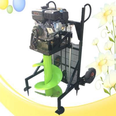 园林种树挖坑机 汽油立柱手提便携式电线杆挖坑机 金佳小型汽油打眼机