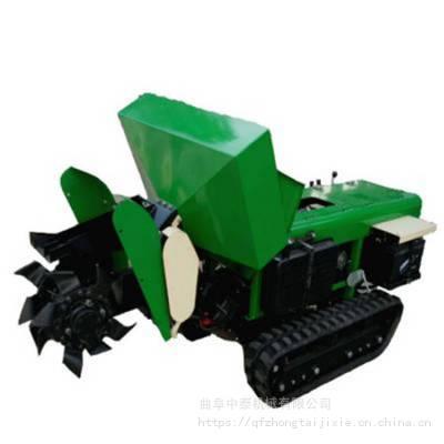 自走式微型旋耕机 履带式农用开沟机 果园内多功能管理机