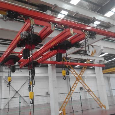 河北优质1-3吨 轻小型起重机 ,KBK起重机,轨道批发。