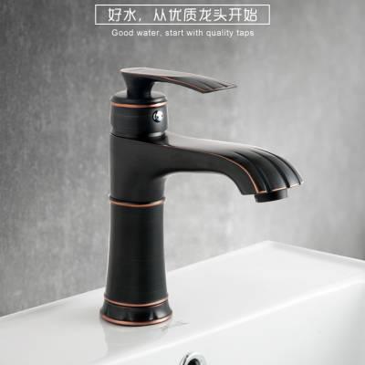 特洛意卫浴厂家直销T-C1006精铜主体水龙头