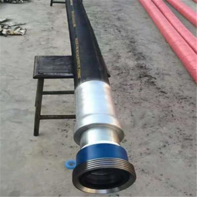 弘创直销高压钢丝油管 钻井用石油钻探胶管 高压钢丝缠绕钻探胶管批发