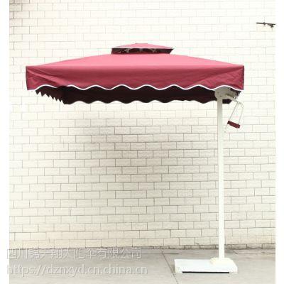 四川省户外遮阳伞、庭院休闲伞沙滩伞、铝合金8骨、加厚涤纶布、遮阳挡雨可印刷啊LOGO