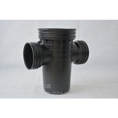污水一体化设备/HDPE雨水沉泥井/国之塑成品沉泥井生产厂家/工业废水处理设备/
