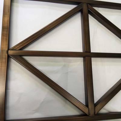 甘肃供应优质不锈钢水镀黄古铜屏风 不锈钢屏风报价
