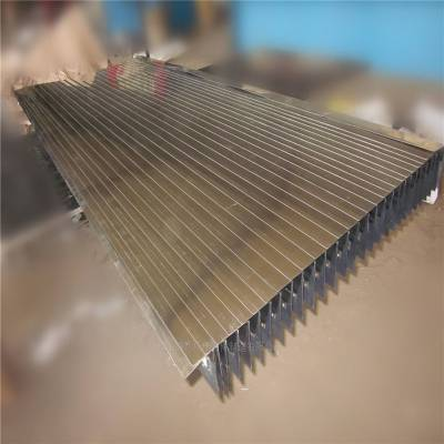 厂家加工风琴防护罩耐磨伸缩防护罩导轨防护罩
